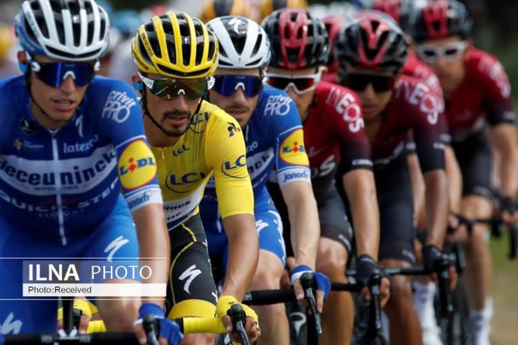 تصاویر مسابقات تور دو فرانس,عکس های مسابقات تور دو فرانس,تصاویر بزرگترین رویداد دوچرخه سواری دنیا