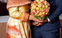 لباس عروس پیتزایی,اخبار جالب,خبرهای جالب,خواندنی ها و دیدنی ها
