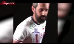 فیلم/ چالش بطری بازیکنان تیم ملی والیبال
