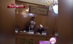 فیلم/ خوش و بش روحانی و جهانگیری در جلسه امروز هیات دولت
