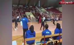 فیلم/ خوشحالی متفاوت مشاور فنی تیم والیبال زنان از برد ایران مقابل کرواسی