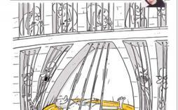 کاریکاتور زندان های لاکچری