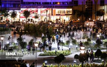 تصاویر مراسم افتتاح میدانگاه هفتم تیر,عکس های میدان هفت تیر,تصاویر فضای جدید میدان هفت تیر