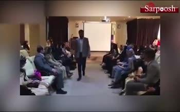 فیلم/ برگزاری فشن شوی آقایان در یزد!
