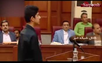 فیلم/ پسر میترا استاد در دادگاه: تقاضای قصاص برای قاتل مادرم دارم!