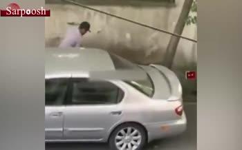 فیلم/ دزدی در روز روشن باوجود حضور دوربین
