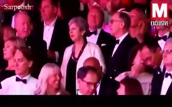 فیلم/ رقص ترزا می در کنسرت موسیقی