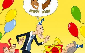 کاریکاتور حضور نیمار و امباپه در رئال مادرید,کاریکاتور,عکس کاریکاتور,کاریکاتور ورزشی