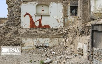تصاویر نقاشی خیابانی,عکس های نقاشی خیابانی,تصاویر راز خاک سرخ