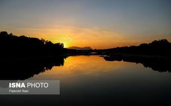 تصاویر زاینده رود,عکس های زیبا از زاینده رود,تصاویر روزهای آخر زاینده رود