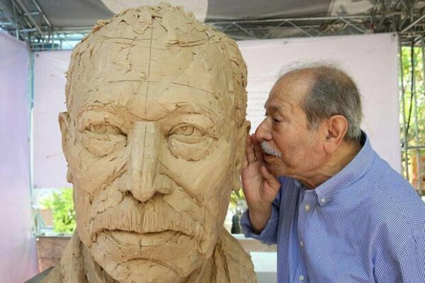 مجسمههای پرتره هنرمندان,اخبار هنرهای تجسمی,خبرهای هنرهای تجسمی,هنرهای تجسمی
