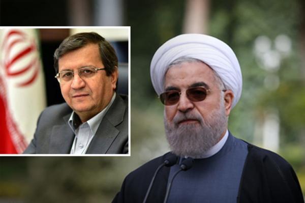 حسن روحانی و عبد الناصر همتی,اخبار اقتصادی,خبرهای اقتصادی,اقتصاد کلان