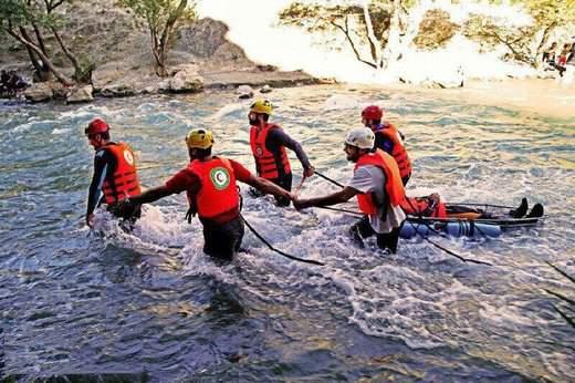 حادثه طغیان رودخانه کاجو,اخبار حوادث,خبرهای حوادث,حوادث طبیعی
