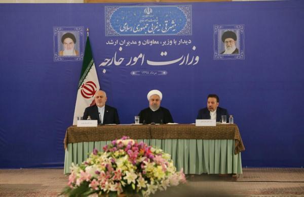 روحانی: پاسخ به تماس تلفنی اوباما به توافق ژنو سرعت داد/مردم به تعامل گسترده با جهان رای داده اند