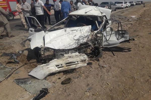 واژگونی خودرو در اتوبان ساوه همدان,اخبار حوادث,خبرهای حوادث,حوادث