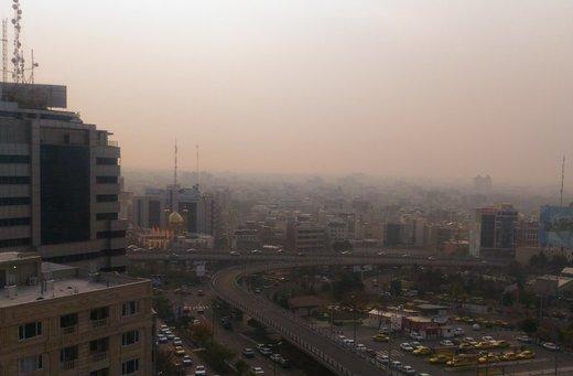 افزایش غلظت ازن در تهران,اخبار اجتماعی,خبرهای اجتماعی,وضعیت ترافیک و آب و هوا