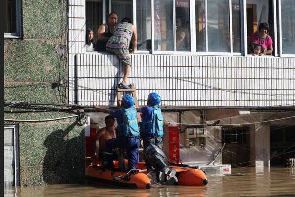 تلفات طوفان لکیما در چین,اخبار حوادث,خبرهای حوادث,حوادث طبیعی