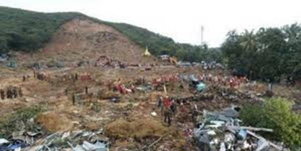 رانش زمین در میانمار,اخبار حوادث,خبرهای حوادث,حوادث طبیعی
