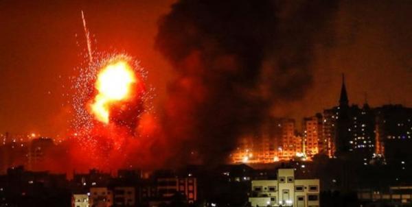 بمباران نوار غزه,اخبار سیاسی,خبرهای سیاسی,خاورمیانه