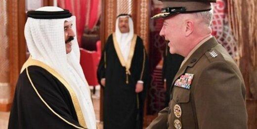 دیدار کنت مکنزی و شاه بحرین,اخبار سیاسی,خبرهای سیاسی,دفاع و امنیت