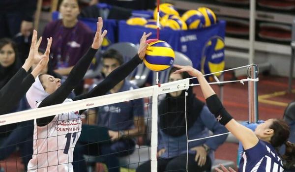 والیبال بانوان ایران شانس حضور در جمع ۴ تیم برتر آسیا را از دست داد