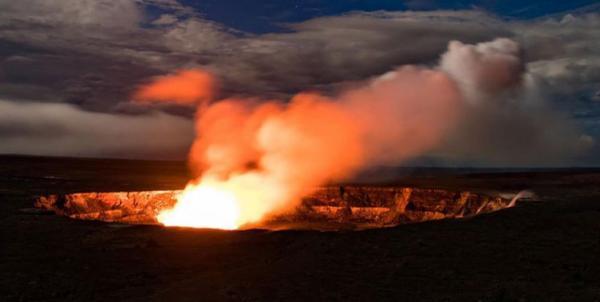 آتشفشانی در هاوایی,اخبار علمی,خبرهای علمی,طبیعت و محیط زیست