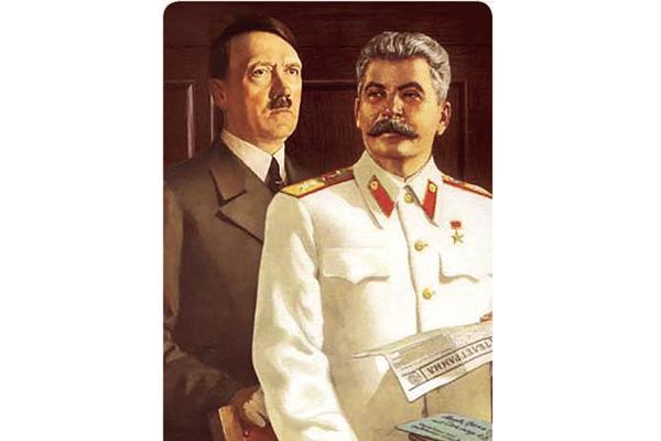 هیتلر و استالین,اخبار جالب,خبرهای جالب,خواندنی ها و دیدنی ها