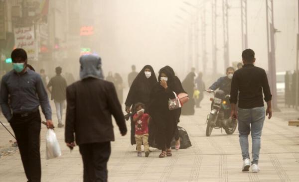 توفان گرد و خاک در سیستان و بلوچستان,اخبار حوادث,خبرهای حوادث,حوادث طبیعی