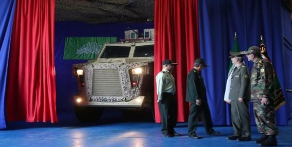 خودروی پیشرفته زرهی مین و ضد رعد,اخبار سیاسی,خبرهای سیاسی,دفاع و امنیت