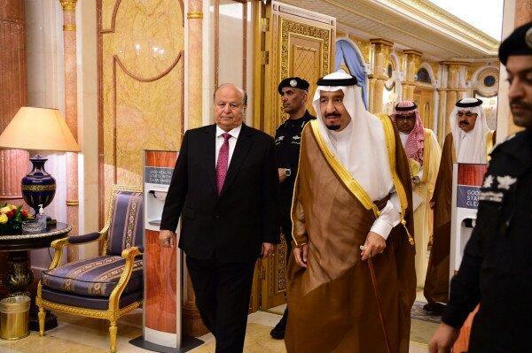 سلمان بن عبدالعزیز آل سعود و منصور هادی,اخبار سیاسی,خبرهای سیاسی,خاورمیانه