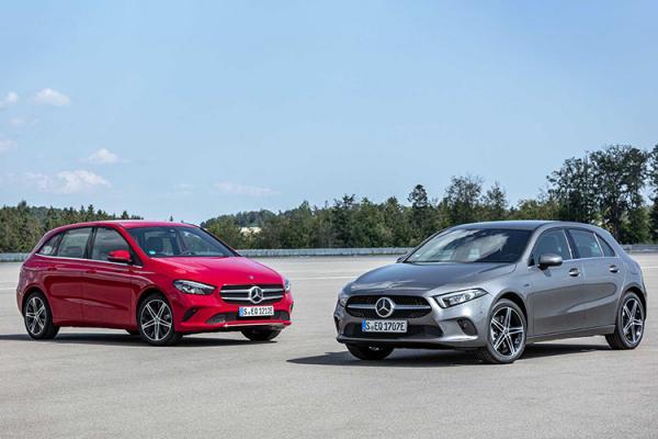 مرسدس بنز A 250e و B 250e هیبریدی,اخبار خودرو,خبرهای خودرو,مقایسه خودرو