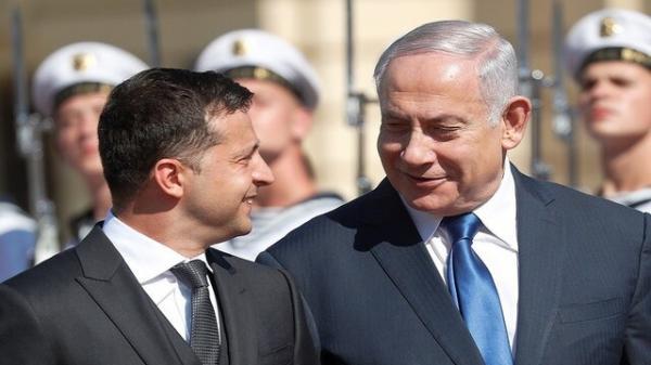 بنیامین نتانیاهو و ولودیمیر زلنسکی,اخبار سیاسی,خبرهای سیاسی,اخبار بین الملل