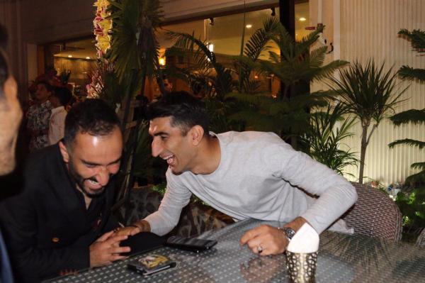 رستوران خسرو حیدری,اخبار فوتبال,خبرهای فوتبال,اخبار فوتبالیست ها