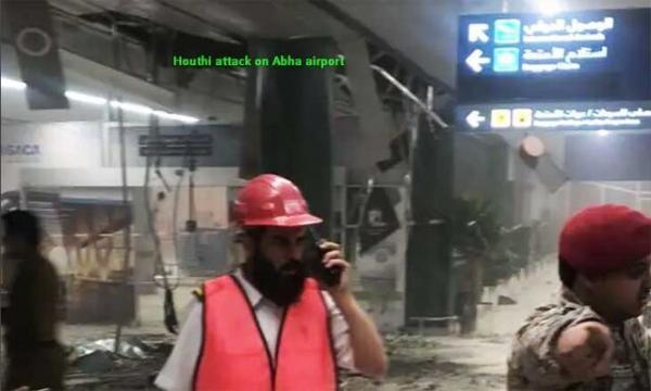 حمله انصارالله به فرودگاه بینالمللی عربستان,اخبار سیاسی,خبرهای سیاسی,خاورمیانه
