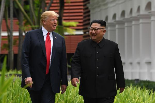 کیم جونگ اون و دونالد ترامپ,اخبار سیاسی,خبرهای سیاسی,اخبار بین الملل