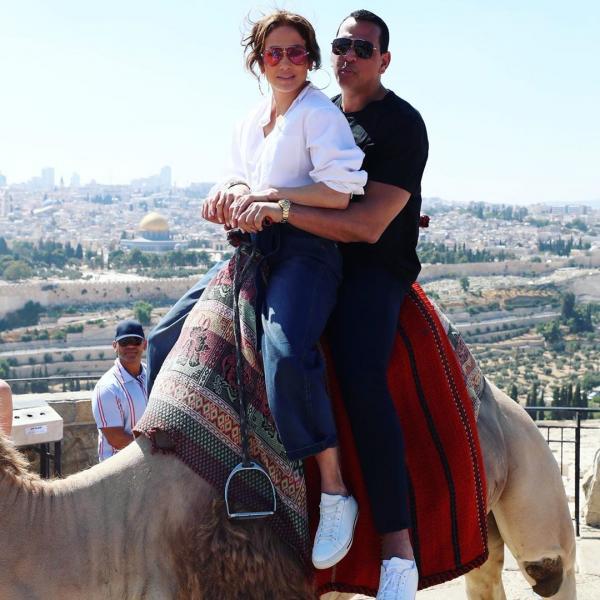 گشت و گذار جنیفر لوپز و همسرش در اسرائیل,اخبار هنرمندان,خبرهای هنرمندان,بازیگران سینما و تلویزیون