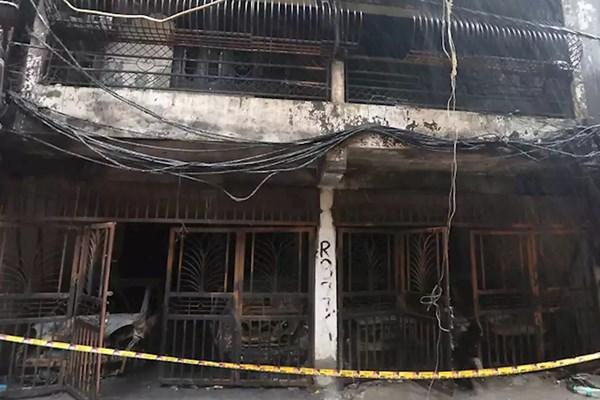 آتشسوزی در دهلی نو,اخبار حوادث,خبرهای حوادث,حوادث امروز