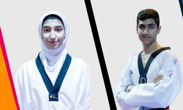 مبینا نعمتزاده و محمدمهدی طاهرخانی,اخبار ورزشی,خبرهای ورزشی,ورزش