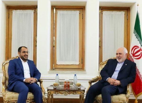 دیدار ظریف و سخنگوی انصارالله یمن,اخبار سیاسی,خبرهای سیاسی,سیاست خارجی