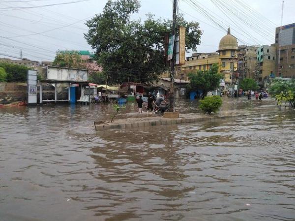 بارش باران در پاکستان,اخبار حوادث,خبرهای حوادث,حوادث طبیعی