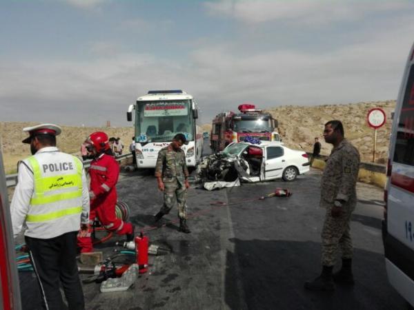 تصادف در جاده قدیم مشهد-نیشابور,اخبار حوادث,خبرهای حوادث,حوادث