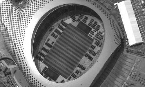 وسایل جنگی چین در استادیوم ورزشی,اخبار سیاسی,خبرهای سیاسی,دفاع و امنیت