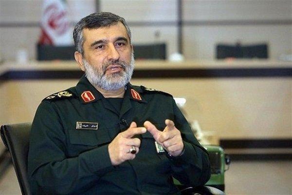 فرمانده هوافضای سپاه: تلاش برای ارتقاء توانمندیهای ما شبانه روز ادامه دارد