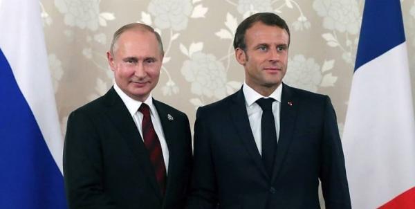 مکرون و پوتین,اخبار سیاسی,خبرهای سیاسی,سیاست خارجی