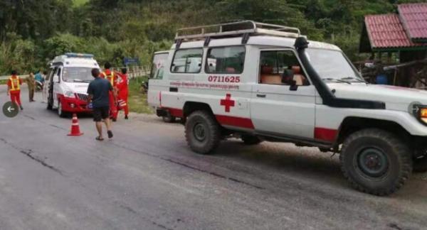 سقوط مرگبار اتوبوس گردشگران چینی به درهای در لائوس,اخبار حوادث,خبرهای حوادث,حوادث