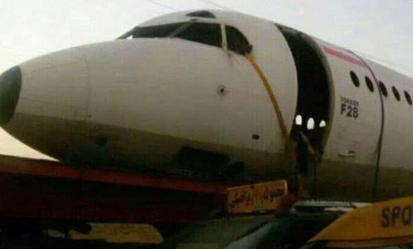 ماجرای عبور زمینی یک هواپیما از کمربندی جهرم چه بود؟