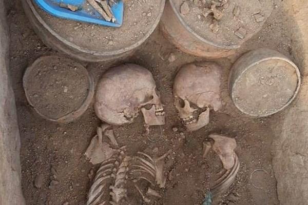 کشف اسکلت یک زوج باستانی,اخبار جالب,خبرهای جالب,خواندنی ها و دیدنی ها