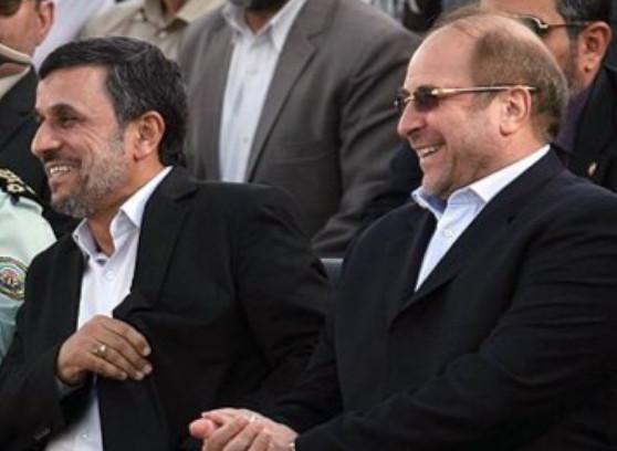 احمدینژاد و قالیباف,اخبار سیاسی,خبرهای سیاسی,اخبار سیاسی ایران