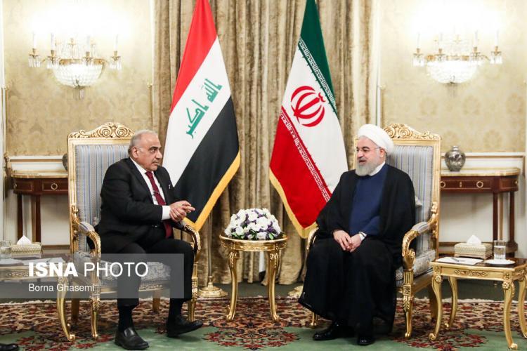 تصاویر دیدار نخست وزیر عراق با حسن روحانی,عکس های دیدار حسن روحانی و عادل عبدالمهدی,عکس عادل عبدالمهدی در تهران