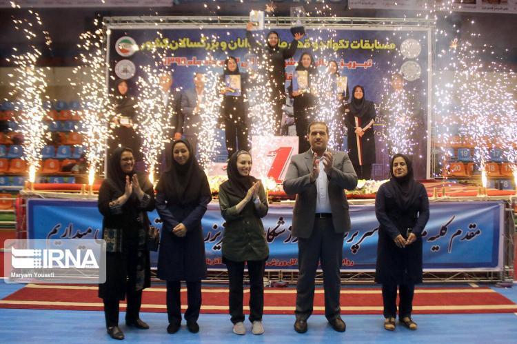 تصاویر قهرمانی تیم تکواندوی بانوان البرز,عکسهای قهرمانی تیم تکواندوی بانوان البرز,تصاویرمسابقات تکواندو قهرمانی بانوان